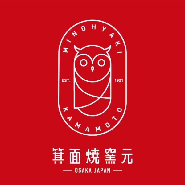 Minoh yaki kamamoto Logo Mark